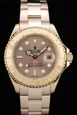 Rolex Yacht Master Gold Bezel Gold Dial 98232 Replica Rolex