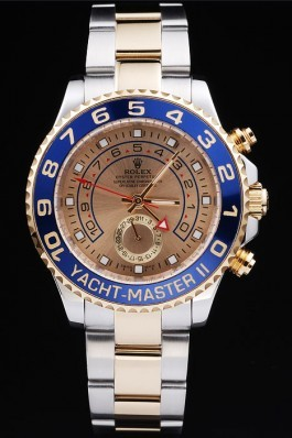 Stainless Steel Band Top Quality Rolex Gold Yacht-Master II Luxury Watch 234 5147 Rolex Replica Cheap