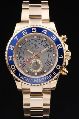 Gold Stainless Steel Band Top Quality Rolex II Rose Gold Luxury Watch 244 5158 Rolex Replica Cheap