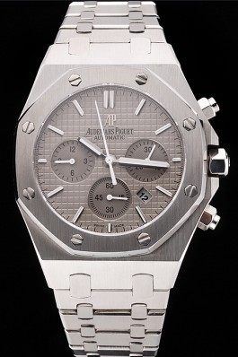 Swiss Audemars Piguet Royal Oak Chronograph Grey Dial Stainless Steel Case And Bracelet 622869 Piguet Replica