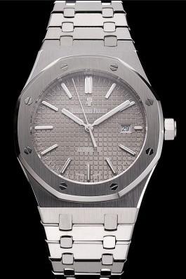Swiss Audemars Piguet Royal Oak Silver Dial Stainless Steel Case And Bracelet Piguet Replica