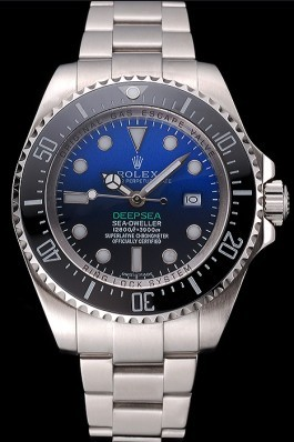 Swiss Deepsea Dweller James Cameron Black Dial Stainless Steel Case And Bracelet 622847 Rolex Replica