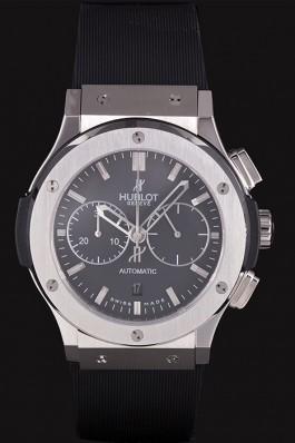 Swiss Hublot Classic Fusion Black Dial Stainless Steel shb04 621397 Hublot Replica Watch