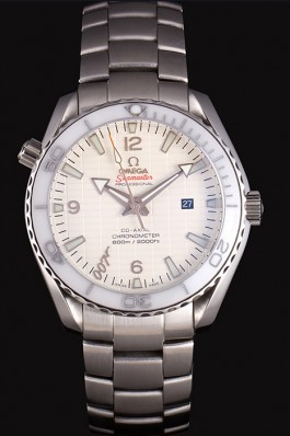 Swiss Omega James Bond Skyfall White Dial and White Bezel som76 621409 Omega Replica Seamaster