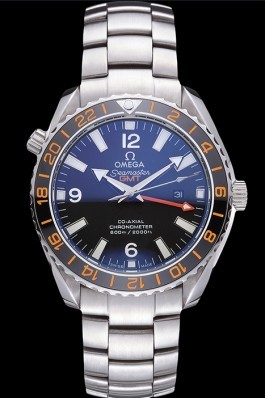 Swiss Omega Seamaster Stainless Steel Black Dial 622019 Omega Replica Seamaster
