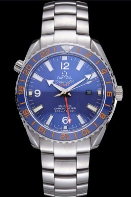Swiss Omega Seamaster Stainless Steel Blue Dial 622020 Omega Replica Seamaster