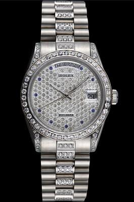 Swiss Rolex Day-Date Diamonds-srl182 621612 Rolex Replica Aaa