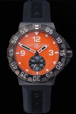 Tag Heuer Formula One Grande Date Orange Dial Rubber Bracelet 622278 Replica Tag Formula 1