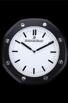 Audemars Piguet Royal Oak Wall Clock Black-White 622461 Piguet Replica