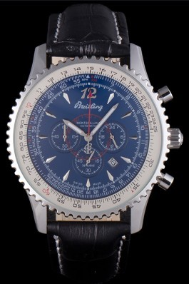 Black Leather Band Top Quality Breitling Navitimer 4056 Replica Designer Watches