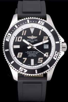 Breitling Superocean 42 Abyss White Accents Rubber Bracelet 622507 Breitling Watches