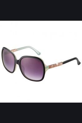 Replica Hermes Large Oversized Green Frame Sunglasses with Metallic Logo 308104