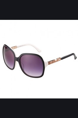 Replica Hermes Large Oversized White Frame Sunglasses with Metallic Logo 308105