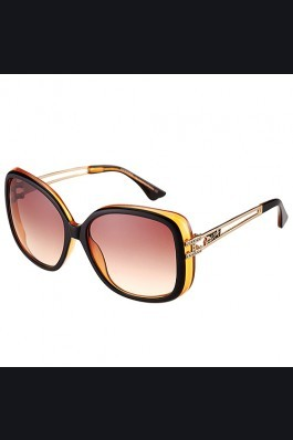 Replica Hermes Studded Carriage Detail Brown Frame Sunglasses 308093