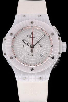 Hublot Big Bang Caviar White Dial Replica Watch Hublot