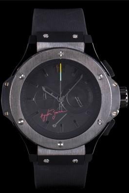 Hublot Limited Edition Ayrton Senna Black Dial Watch Hublot Replica