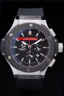 Hublot Limited Edition Luna Rosa Black Dial Watch Hublot Replica
