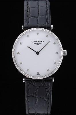 Longines La Grande Classique White Dial Diamond Markers Homme 622135 Replica Longines Classic