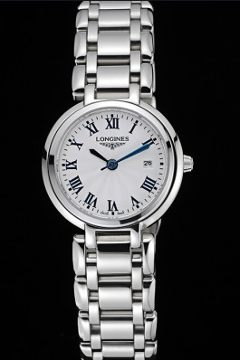 Longines PrimaLuna Stainless Steel Case Roman Numerals 622587 Longines Replica Watch