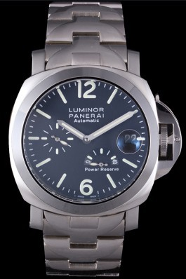 Stainless Steel Band Top Quality Silver Luminor Power Reserve Luxury Watch for Men 4816 Panerai Luminor Replica
