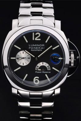 Stainless Steel Band Top Quality Men's Panerai Luminor Power Reserve Luxury Watch 4817 Panerai Luminor Replica