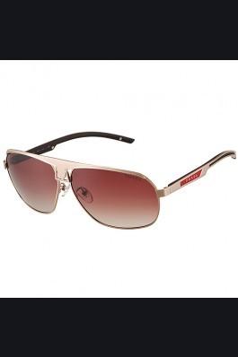 Replica Prada Sporty Embellished Gold Frame Linea Rossa Logo Sunglasses 308302