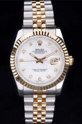 Stainless Steel Band Top Quality Rolex Gold Luxury Watch 17 5099 Replica Rolex Datejust