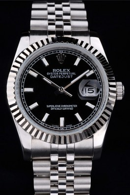 Stainless Steel Band Top Quality Silver Rolex Datejust Luxury Watch 5136 Replica Rolex Datejust