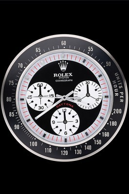 Rolex Daytona Cosmograph Wall Clock Black-Red 622480 Rolex Daytona Replica