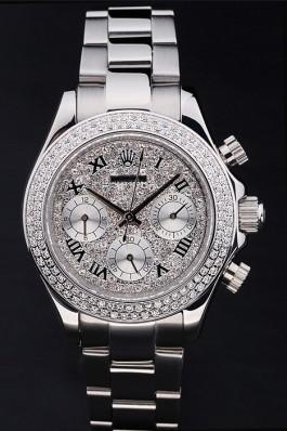 Stainless Steel Band Top Quality Silver Daytona Luxury Watch 163 5092 Rolex Daytona Replica