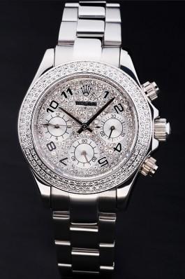 Stainless Steel Band Top Quality Rolex Daytona Luxury Watch 165 5094 Rolex Daytona Replica