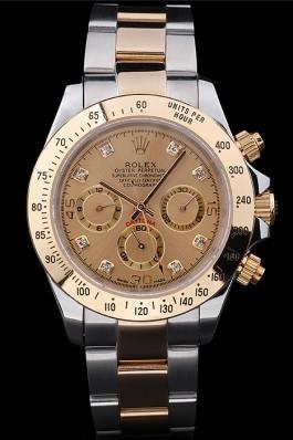 Stainless Steel Band Top Quality Rolex Gold Luxury Watch 5259 Rolex Daytona Replica