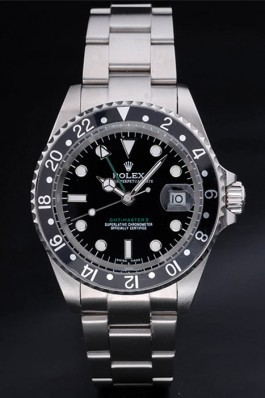 GMT Master Top Quality Silver II Luxury Watch 5278 Rolex Replica Gmt