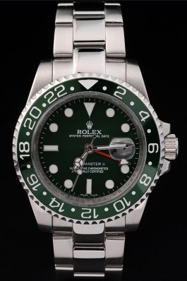 Stainless Steel Band Top Quality Rolex Master II Swiss Mechanism Silver Luxury Watch 5353 Rolex Replica Gmt