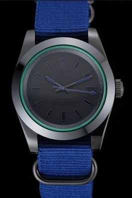 Rolex Milgauss Bamford Blue Nylon Strap 622005 Luxury Watch Replica