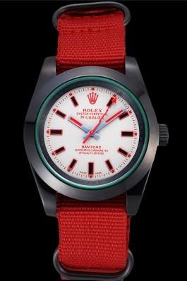 Rolex Milgauss Bamford Red Nylon Strap 622002 Luxury Watch Replica