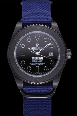 Rolex Stealth Submariner Blue 621994 Rolex Submariner Replica