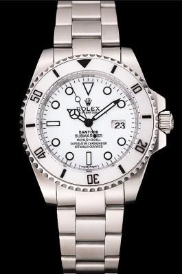 Rolex Submariner Bamford White Dial Stainless Steel Bracelet 1453863 Rolex Submariner Replica