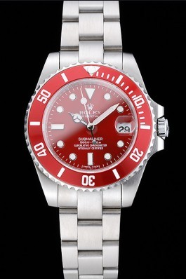 Rolex Submariner Red Dial Stainless Steel Bracelet 1454154 Rolex Submariner Replica