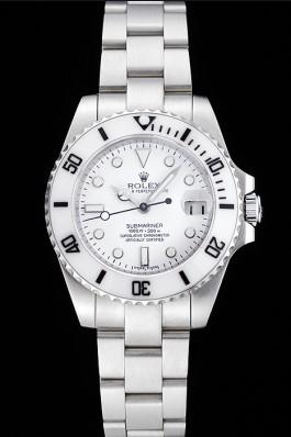 Rolex Submariner White Dial Stainless Steel Bracelet 1454152 Rolex Submariner Replica