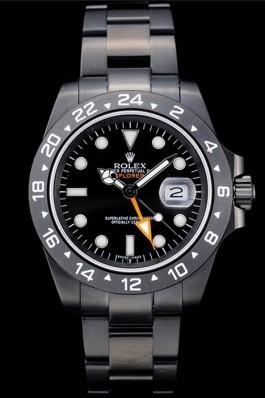 Rolex Swiss Explorer Black Ceramic Bezel Black Dial Watch 98239 Replica Rolex