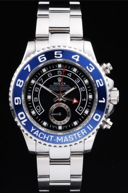 Stainless Steel Band Top Quality Rolex Yacht-Master II Luxury Watch 241 5155 Rolex Replica Cheap