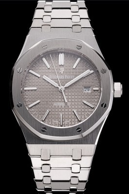 Swiss Audemars Piguet Royal Oak Silver Dial Stainless Steel Case And Bracelet Piguet Replica