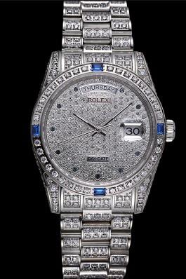 Swiss Rolex Day-Date Diamonds-srl183 621613 Rolex Replica Aaa